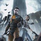 Half Life 2 Alyx Vance Gordon Freeman Game Art 32x24 Print Poster