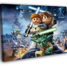 Lego Star Wars Characters Amazing Game Art 40x30 Framed Canvas Print