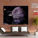 Imperial Death Star Destroyer TIE Star Wars Giant Huge Print Poster