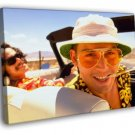 Fear And Loathing In Las Vegas Johnny Depp 50x40 Framed Canvas Print
