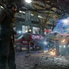 Watch Dogs Aiden Pearce Car Crash Game Art 16x12 Print Poster