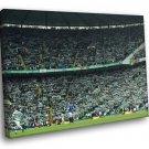 Celtic Park Glasgow Scotland Football Club Soccer 50x40 Framed Canvas Print