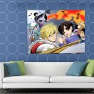 Ouran High School Host Club Anime Manga Art HUGE 48x36 Print POSTER