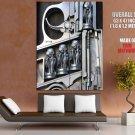 HR H R Giger Pistol Gun Bullets Aliens Art Giant Huge Print Poster