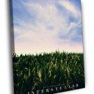 Interstellar Christopher Nolan 2014 Movie 50x40 Framed Canvas Print