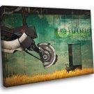 Portal 2 GLaDOS Aperture Science Laboratories Art 40x30 Framed Canvas Print