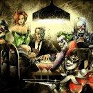 Batman Villains Cool Art Artwork 16x12 Print Poster