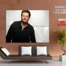 Blake Shelton Country Singer Music Giant Huge Print Poster