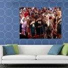 Seattle SuperSonics Shawn Kemp Payton Detlef Schrempf HUGE 48x36 Print POSTER