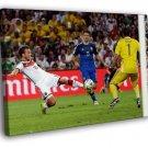 Mario Gotze Shot Volley Goal Final Germany 40x30 Framed Canvas Print