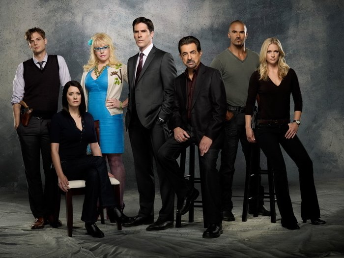 Criminal Minds Cast Characters TV Series 32x24 Print Poster