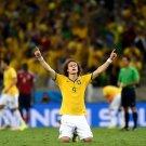 David Luiz Awesome World Cup Brazil Soccer Football 16x12 Print POSTER