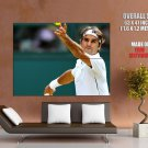 Roger Federer Tennis Player Champion Sport Giant Huge Wall Print Poster