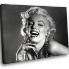 Marilyn Monroe Laughing Hollywood Movie Star 50x40 Framed Canvas Art Print
