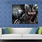 Venom Symbiote Eddie Brock Awesome Art HUGE 48x36 Print POSTER