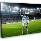 Lionel Messi Goal Argentina FIFA World Cup 30x20 Framed Canvas Print
