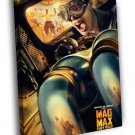Mad Max Fury Road Nux Nicholas Hoult Movie 40x30 Framed Canvas Print