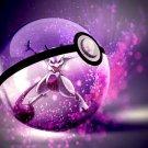 Mewtwo Pokeman Amazing Anime Art Pokeball 32x24 Wall Print POSTER