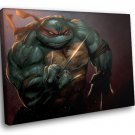 Ninja Turtles Raphael Twin Sai Japanese Weapon 40x30 Framed Canvas Art Print