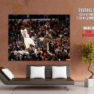 Jamal Crawford Fadeaway Shot Los Angeles Clippers GIANT Huge Print Poster