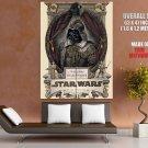 Darth Vader Steampunk Star Wars Art Artwork Giant Huge Print Poster