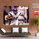 Adrian Peterson Minnesota Vikings Football Sport Giant Huge Print Poster