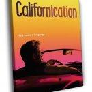 Californication David Duchovny Tv Series 50x40 Framed Canvas Print