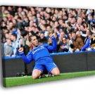 Eden Hazard Goal FC Chelsea Soccer Football 40x30 Framed Canvas Print