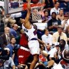 Kevin Johnson Dunk Olajuwon Phoenix Suns Vintage Retro 32x24 Wall Print POSTER