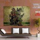 Bebop And Rocksteady TMNT Teenage Mutant Ninja Turtles GIANT Huge Print Poster