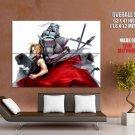 Fullmetal Alchemist Brotherhood Manga Anime Series Giant Huge Print Poster