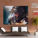 Tony Stark Wounded Blood Iron Man Awesome Art Giant Huge Print Poster