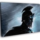 Rise Of An Empire Movie Spartan Helmet 50x40 Framed Canvas Print