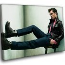 Ed Westwick Amazing Actor Chuck Bass Gossip Girl 40x30 Framed Canvas Art Print