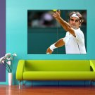 Roger Federer Tennis Player Champion Sport 47x35 Print Poster