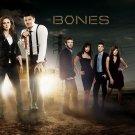Bones TV Series Cast Emily Deschanel David Boreanaz 16x12 Wall Print Poster