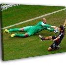 Tim Howard Save USA 2014 FIFA World Cup Brazil 50x40 Framed Canvas Print