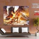 Luis Royo Fantasy Dragon Art Giant Huge Wall Print Poster