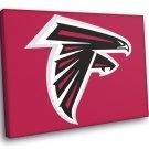 Atlanta Falcons Football Logo Hockey Sport Art 40x30 Framed Canvas Print