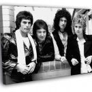Queen Great BW Retro Freddie Mercury Band 40x30 Framed Canvas Print