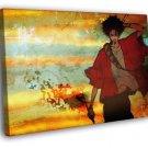 Samurai Champloo Cool Painting Vintage Manga 40x30 Framed Canvas Print