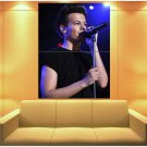 Louis Tomlinson Pop Pop Rock Singer Music Huge Giant Print Poster
