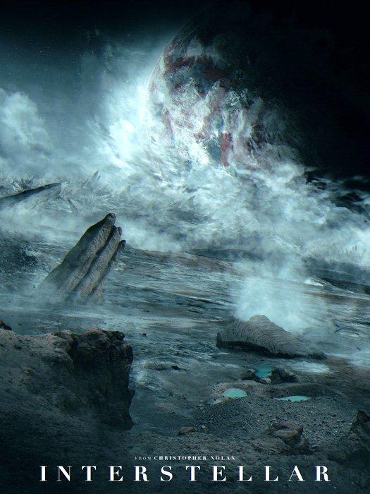 Interstellar Christopher Nolan 2014 Movie 16x12 Print POSTER