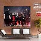 Slipknot Heavy Metal Band Music Giant Huge Print Poster