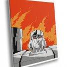 Megatron Generation 1 Original Transformers Art 50x40 Framed Canvas Print