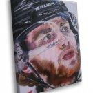 Patrick Kane Chicago Blackhawks Painting Art Hockey 50x40 Framed Canvas Print