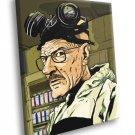 Breaking Bad TV Series Walter White Artwork Art 30x20 Framed Canvas Print
