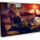 Jennifer Lawrence Bed Romantic Hot Sexy Rare 30x20 Framed Canvas Print