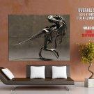 Tyrannosaurus Rex Dinosaur Skeleton Giant Huge Print Poster