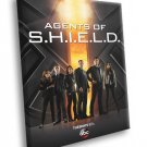 Agents Of S H I E L D SHIELD TV Series 30x20 Framed Canvas Print